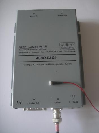Contrôle par emission acoustique ascodaq 2