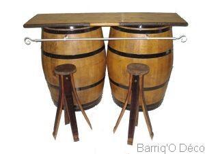 aquitaine barrique creation produits de la categorie meubles de bar. Black Bedroom Furniture Sets. Home Design Ideas