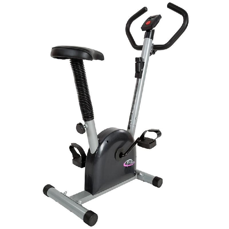 Vélo d\'appartement fitness sport musculation cardio écran lcd 0708016