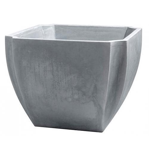 bac fleurs carr gris 110 litres palmea 13901 eda plastiques comparer les prix de bac. Black Bedroom Furniture Sets. Home Design Ideas