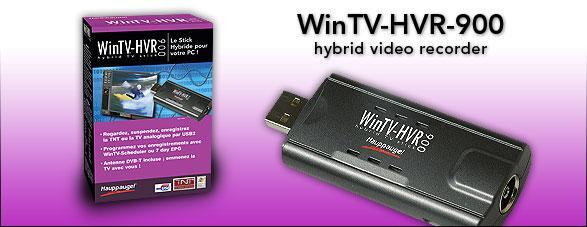 logiciel wintv hvr 900