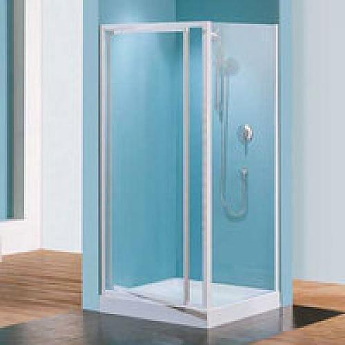 Porte douche pivotante verre granit riviera g 88 92 cm for Porte douche verre