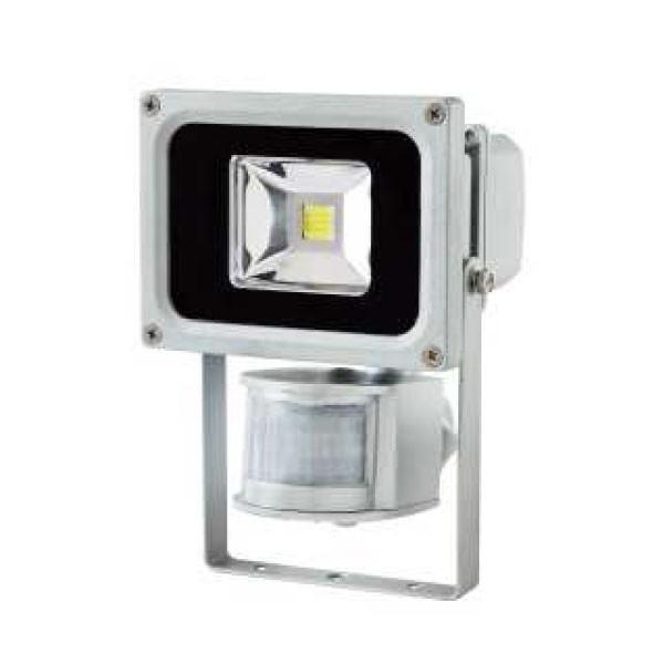 projecteur led chip 10w detecteur de mouvement. Black Bedroom Furniture Sets. Home Design Ideas