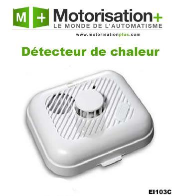 D tecteur de fum e ei electronics achat vente de for Detecteur de chaleur