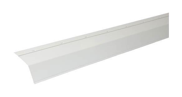 LARMIER PVC 18 CM EN 2M BLANC LARM18B - NICOLL