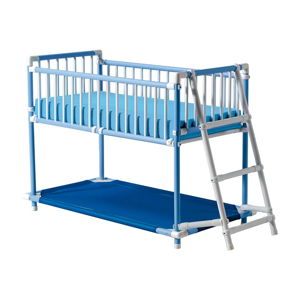 lit de repos pour enfant 2 niveaux. Black Bedroom Furniture Sets. Home Design Ideas