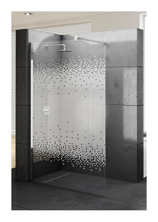 Paroi de douche fixe kuadra h 150 s rigraphi novellini for Paroi fixe pour douche italienne