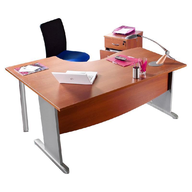 Bureau avec retour achat vente bureau avec retour au for Bureau 4 pieds