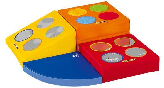 Wesco amenagement produits modules de motricite for Cube miroir habitat