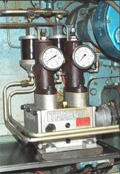 Système progressif de répartition avec pompes manzel mvb