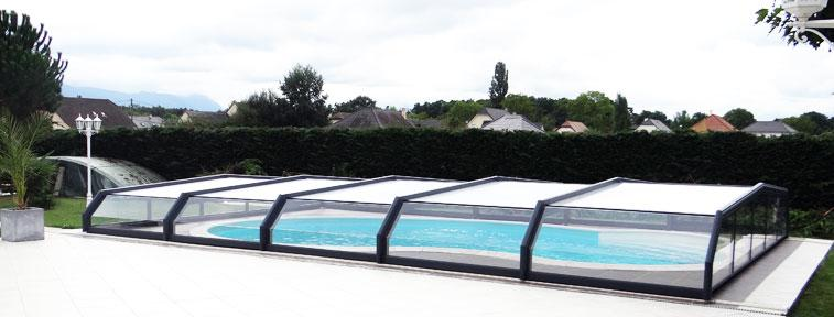 abris de piscine bas 3 angles. Black Bedroom Furniture Sets. Home Design Ideas