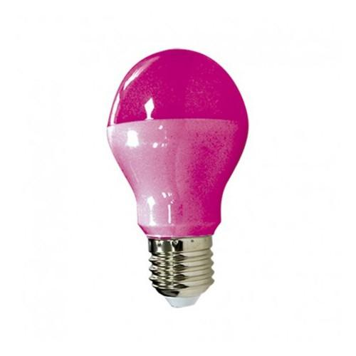 ampoule led 9 w bulb e27 pink. Black Bedroom Furniture Sets. Home Design Ideas