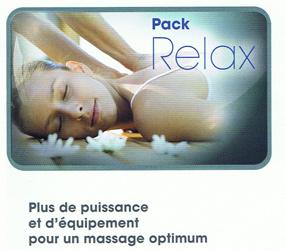 PACK RELAX POUR SPA KINEDO A500 VERSION