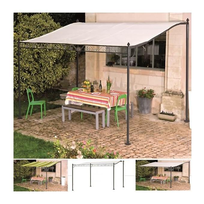 auvent pergola pour terrasse pm 3 x 2 5 m probache comparer les prix de auvent pergola pour. Black Bedroom Furniture Sets. Home Design Ideas