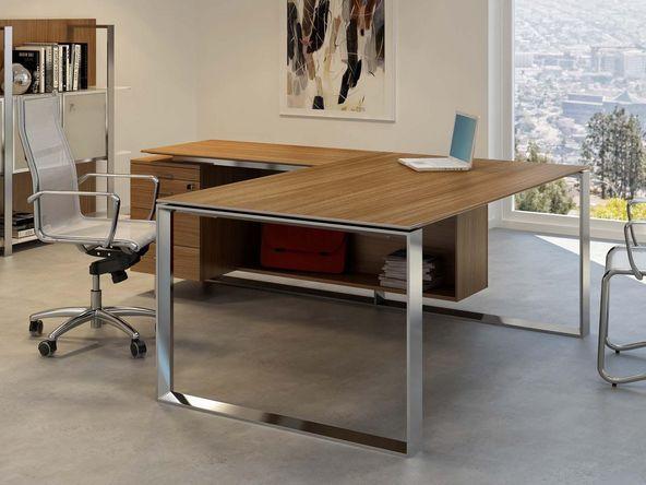 bureau de direction turing nex avec retour et caisson 3 tiroirs comparer les prix de bureau de. Black Bedroom Furniture Sets. Home Design Ideas