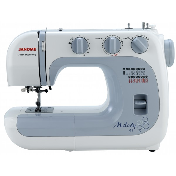 Machine a coudre janome melody 41 for Irresistible a coudre 4 8 ans