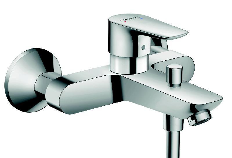 mitigeur bain douche mural talis e chrom comparer les prix de mitigeur bain douche mural. Black Bedroom Furniture Sets. Home Design Ideas