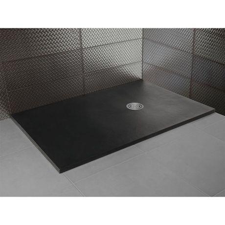receveur de douche extra plat en r sine nature 110 comparer les prix de receveur de douche extra. Black Bedroom Furniture Sets. Home Design Ideas