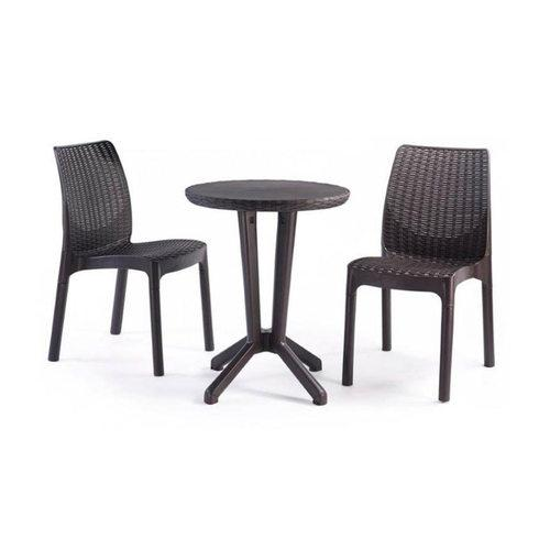 salon de jardin bistro set comparer les prix de salon de jardin bistro set sur. Black Bedroom Furniture Sets. Home Design Ideas