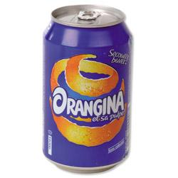 CANETTES ORANGINA 330 ML - 24 CANNETTES