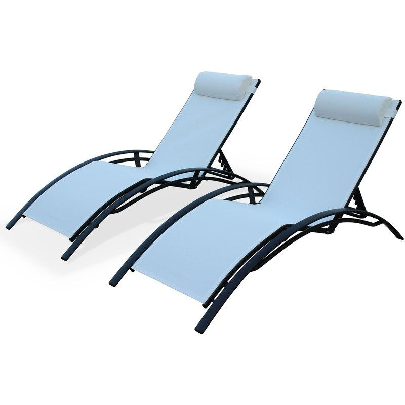 beautiful transat jardin alice garden ideas awesome ForAchat Chaise Longue