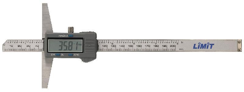 Jauge de profondeur digitale jusqu'à 300 mm limit depdig300