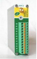 Arm-d-da - modem radio 433/868 mhz digital / ana - 2 e/s tor   1 e/s ana