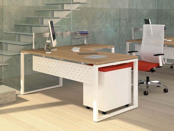 photos bureaux droit en melamine page 2. Black Bedroom Furniture Sets. Home Design Ideas