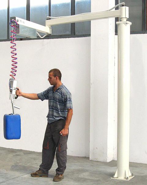 Manipulateur de bidon ingenitec par câble et crochet