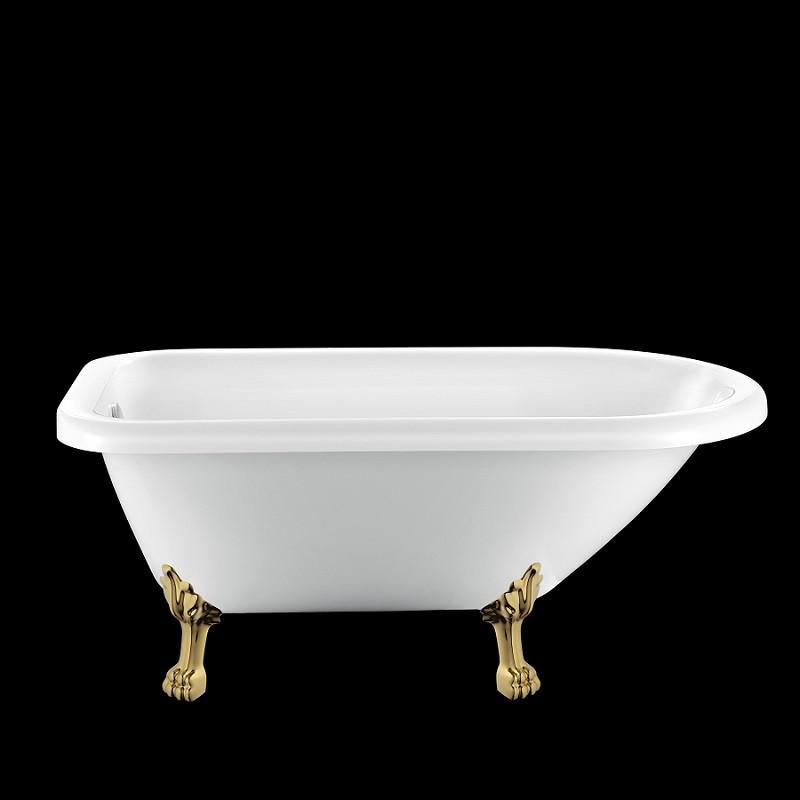 baignoire ancienne graceville 151 blanche avec pattes de lion dor es comparer les prix de. Black Bedroom Furniture Sets. Home Design Ideas