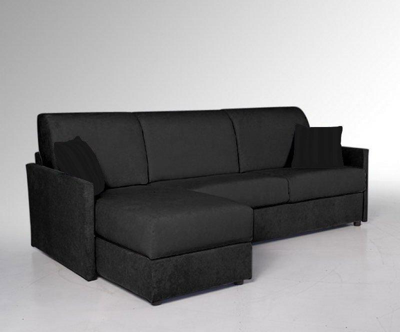 canape d 39 angle coffre sun compact convertible ouverture rapido 120 197 14cm couchage quotidien. Black Bedroom Furniture Sets. Home Design Ideas