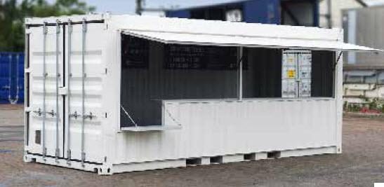 Containers amenages tous les fournisseurs conteneurs for Prix de container