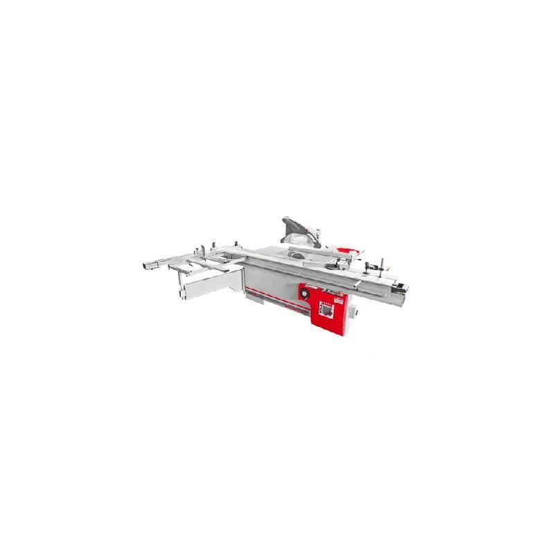 Scie à format d. 315 mm chariot 3200 mm 400 v - 5500 w fks315vfn-3200 - holzmann