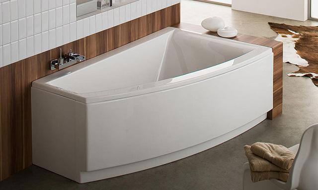 baignoires d 39 angle esquisse. Black Bedroom Furniture Sets. Home Design Ideas