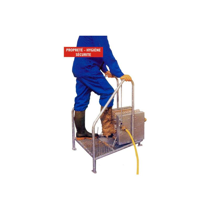 LAVE-BOTTES & LAVE-CHAUSSURES - SECURIBAT