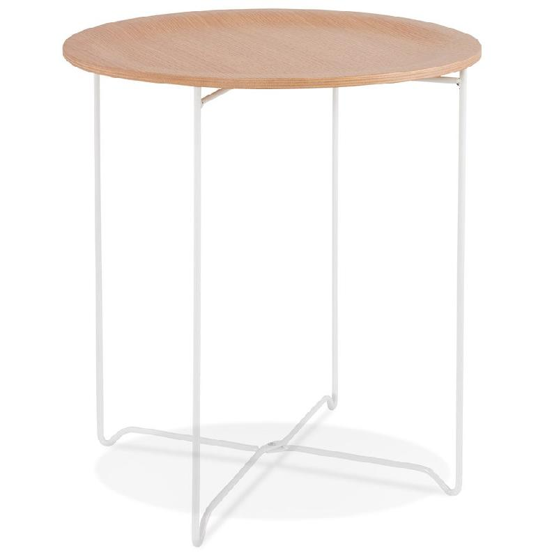 Tables d 39 appoint alterego design achat vente de tables d 39 appoint - Table d appoint bois et metal ...