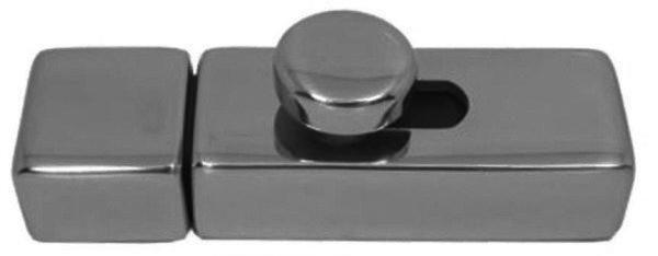 VERROU À RESSORT ACIER INOXYDABLE (INOX) A4 72MM