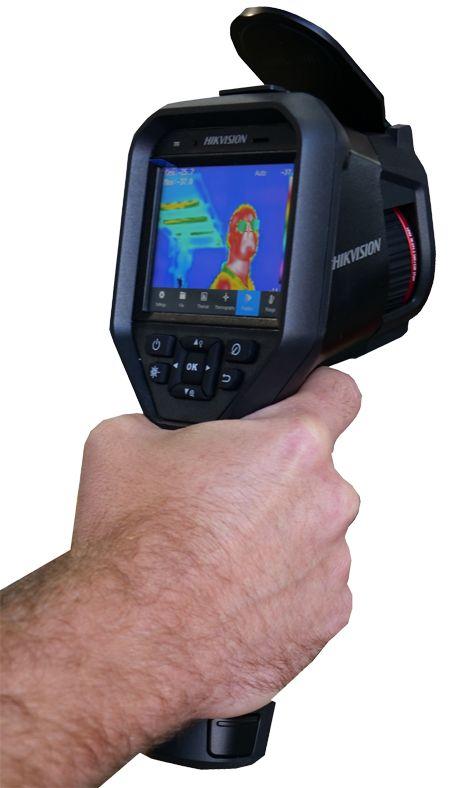 Caméra video thermique portable