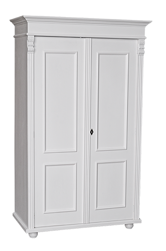 armoire 2 portes l 109 cm en pin massif pays basque comparer les prix de armoire 2 portes l. Black Bedroom Furniture Sets. Home Design Ideas