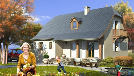 Habitations completes modele de maison provinciale for Maison provinciale