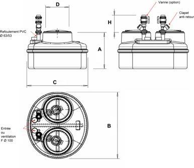 stations de relevage domestiques tous les fournisseurs station de relevage d 39 eau. Black Bedroom Furniture Sets. Home Design Ideas