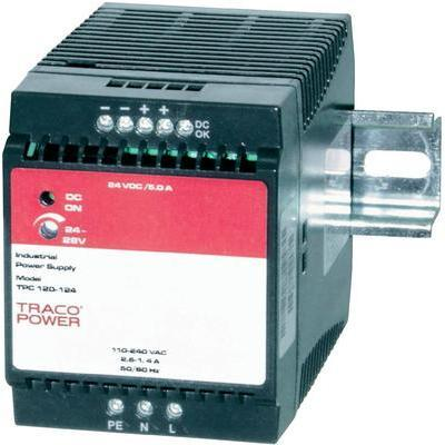 ALIMENTATION RAIL DIN TRACOPOWER TPC 120-124 24 V/DC 5 A 120 W 1 X