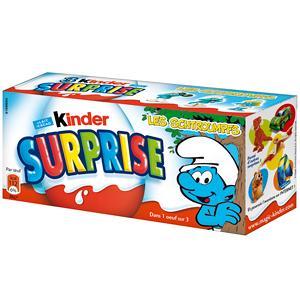 Kinder surprise oeuf chocolat x 3 60 g
