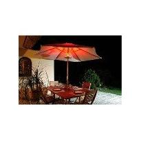 luminaire pour parasol lunasol rouge osram. Black Bedroom Furniture Sets. Home Design Ideas