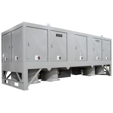 Asco 9100-banc de charge -résistif | moyenne tension | 3 mw à 7 mw | 4160 v à 13 800 v | 60 hz