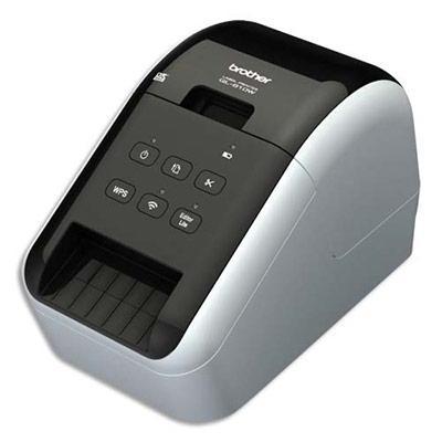 imprimante d 39 tiquettes brother ql 810w rouleau 62 mm wifi comparer les prix de imprimante d. Black Bedroom Furniture Sets. Home Design Ideas