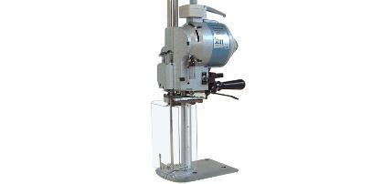 Machine de coupe a lame verticale pour tissu