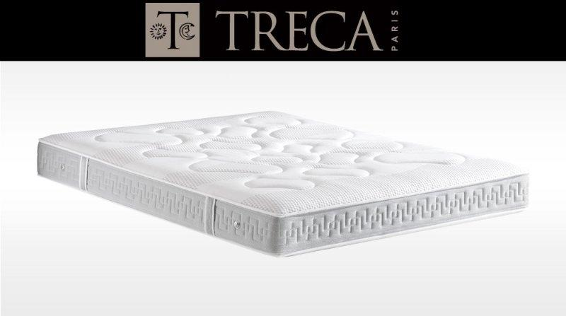 matelas treca aurora 80 200 cm suspension air spring 500 ressorts epaisseur 23 cm. Black Bedroom Furniture Sets. Home Design Ideas