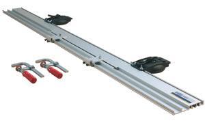 RAIL DE GUIDAGE VIRUTEX UCP 90 (RAIL 1400 MM + 2 SERRE-JOINTS + 2 VENTOUSES)