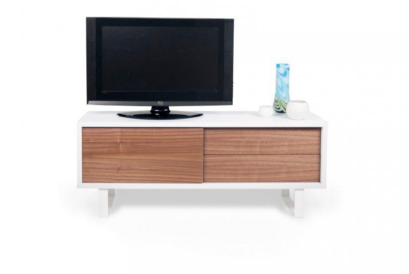 meuble tv blanc avec tiroirs – Artzein.com